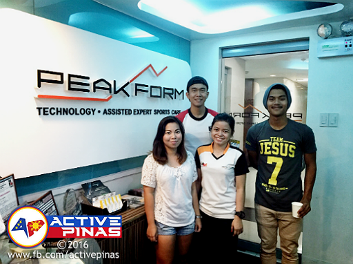 active pinas at the peakform manila