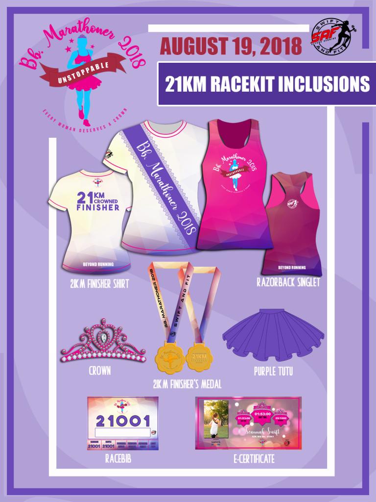 binibining marathoner 21K