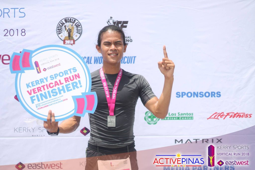 Kerry Sports Manila Vertical Run 2018 - Finish Line