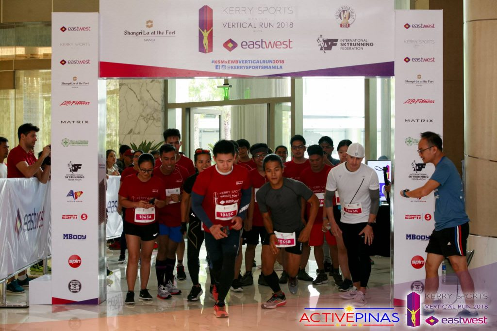 Kerry Sports Manila Vertical Run 2018 Starting Line