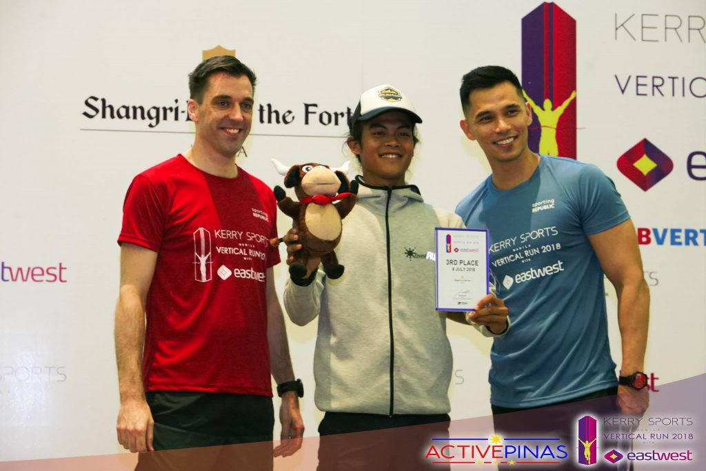 Kerry Sports Manila Vertical Run Age Category Awardee