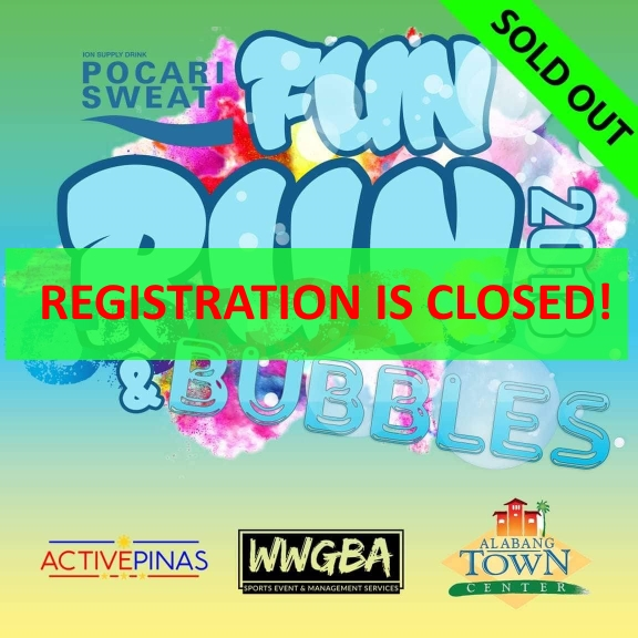 pocari sweat colors and bubbles fun run registration closed
