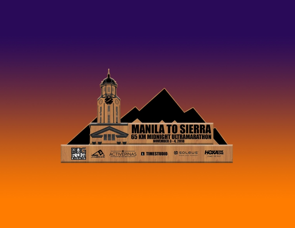 Manila To Sierra 2018 Trophy - Front