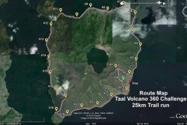 Taal Volcano Route
