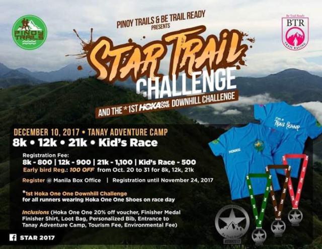 STAR Trail Challenge 2017