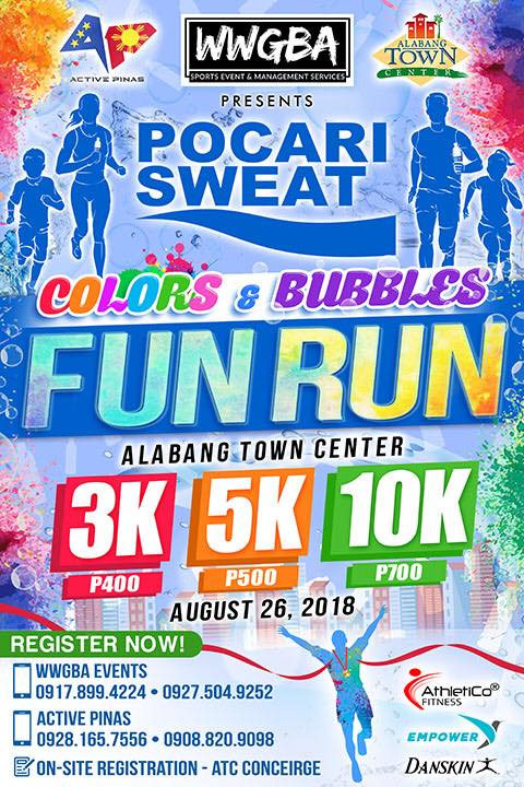 Pocari Sweat Fun Run 2018