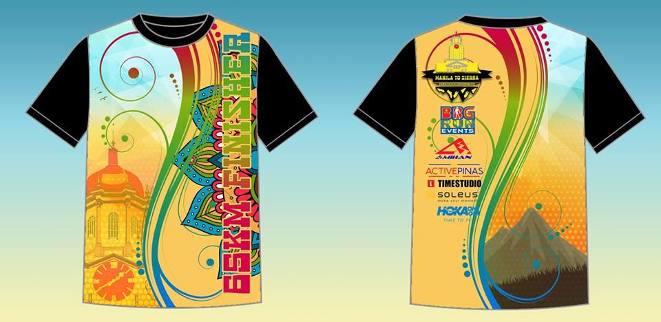 Manila to Sierra 2018 Full Sublimated Finisher Shirt