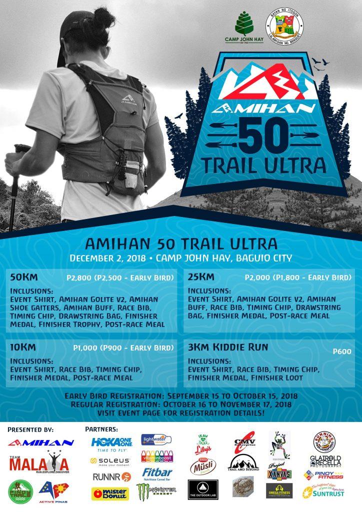 amihan 50K trail utral 2018