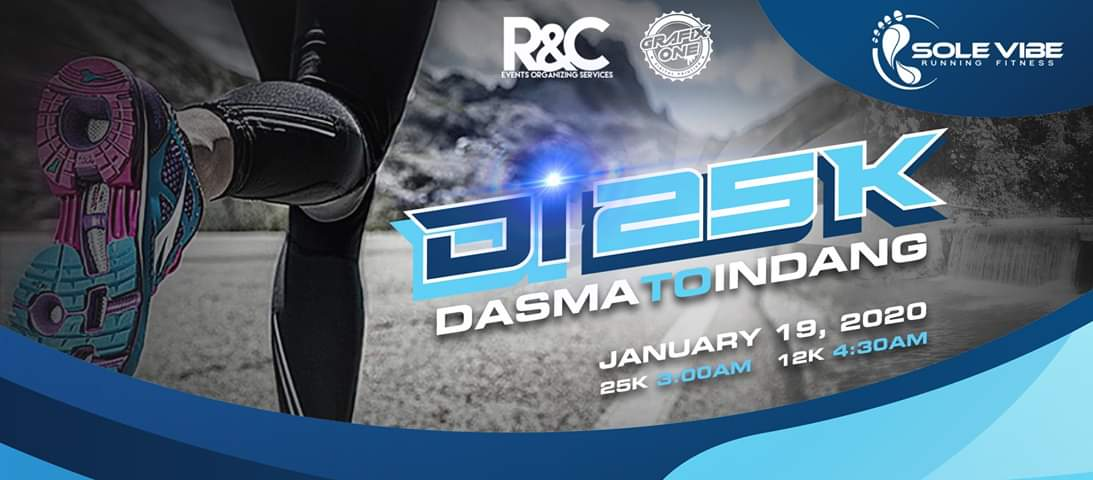 Dasma To Indang 25K Run Header